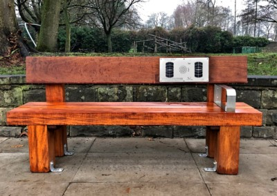 Audio Bench – Heavy Duty, Salford City Council