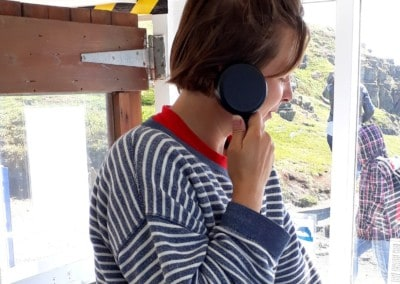 Heavy Duty Handset – National Trust Wildlife Watchpoint Hut