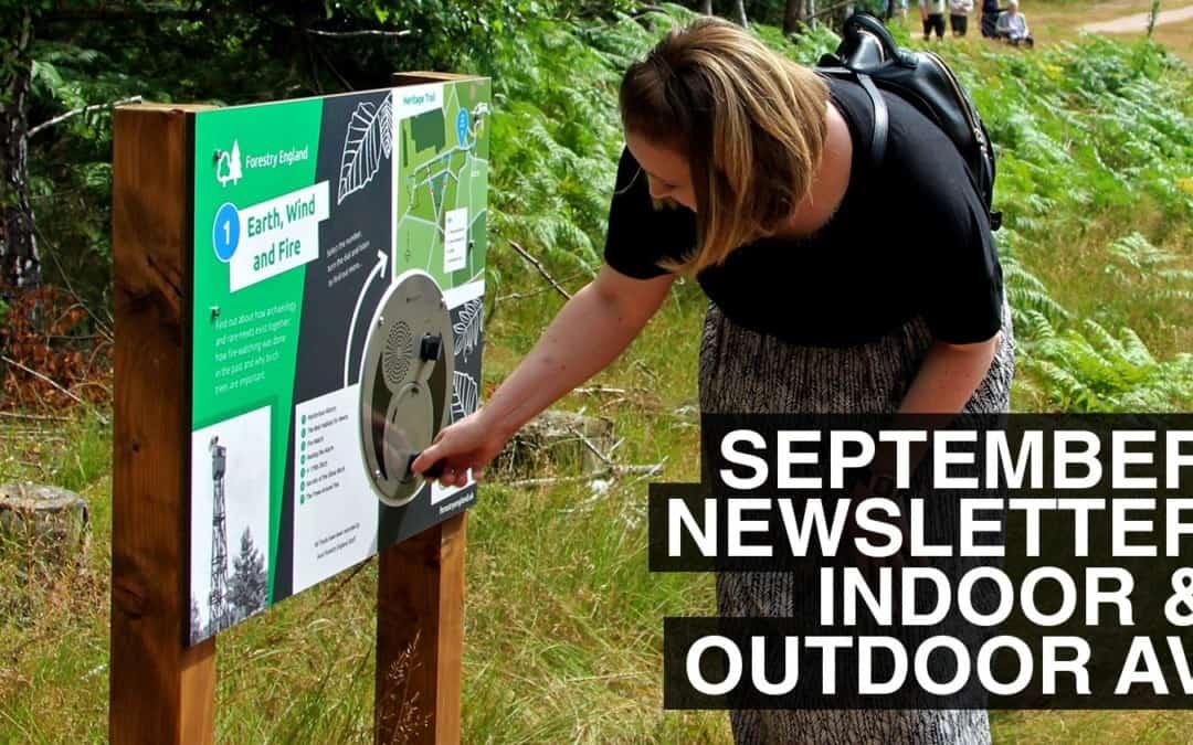 September Newsletter – Indoor & Outdoor AV