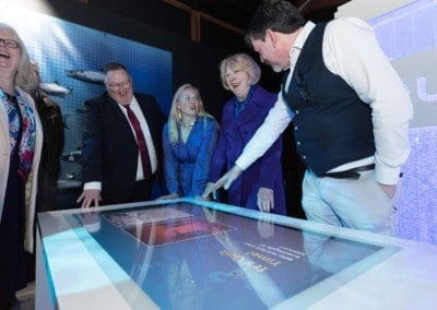 Burren Smokehouse – 55″ Touch Table with Quiz & Puzzle