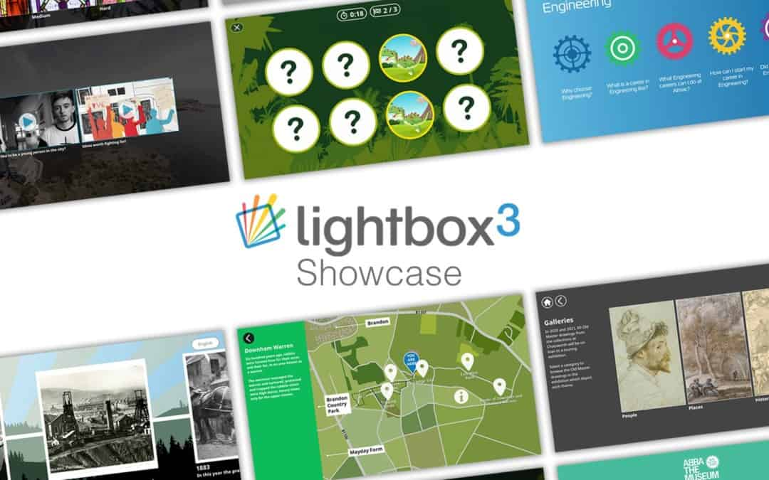 Lightbox 3 – Museum Touchscreen Software Showcase