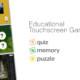 Educational Touchscreen Games